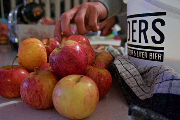 Appels voor cider