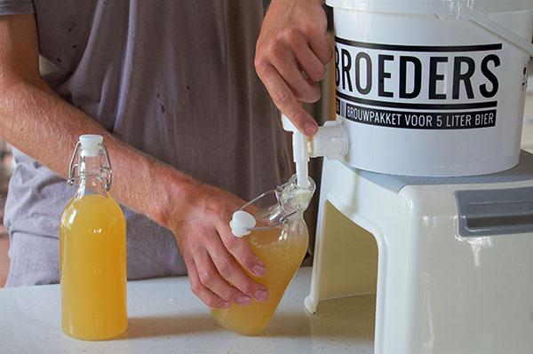 Cider in flesjes