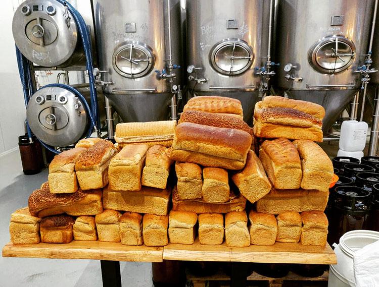 Het brood licht klaar voor de Ally hop!