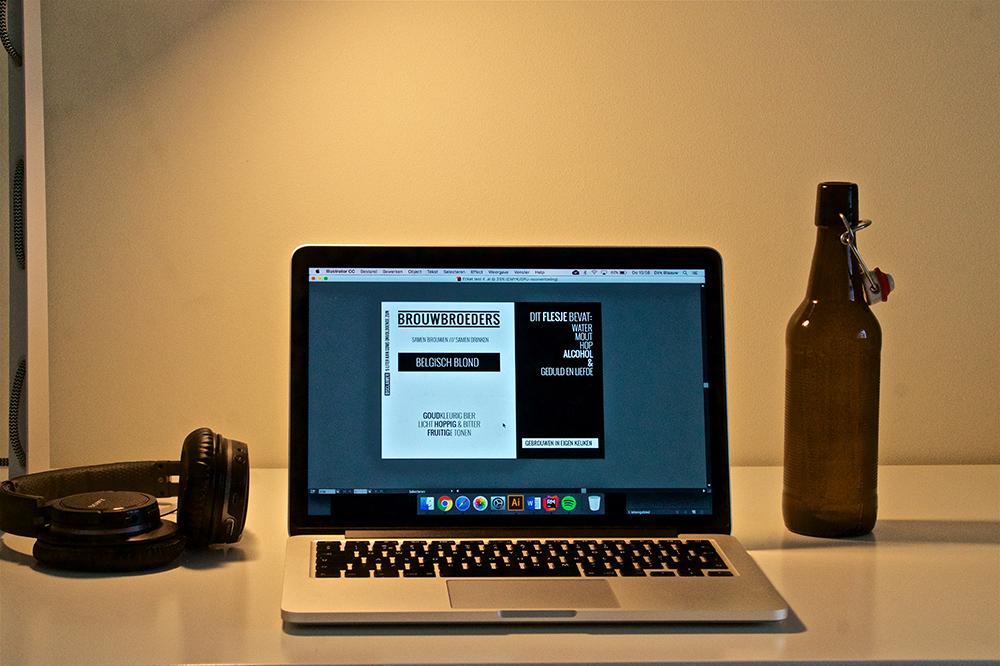 Ontwerp het etiket voor je eigen gebrouwen biertje